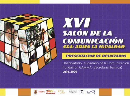 RESULTADOS XVI SALÓN DE LA COMUNICACIÓN
